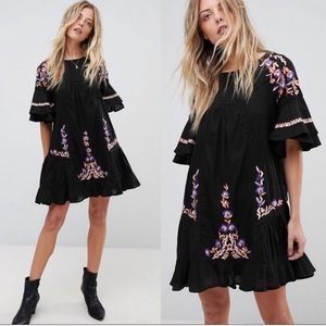 NWOT Free People Pavlo Ruffle Dress